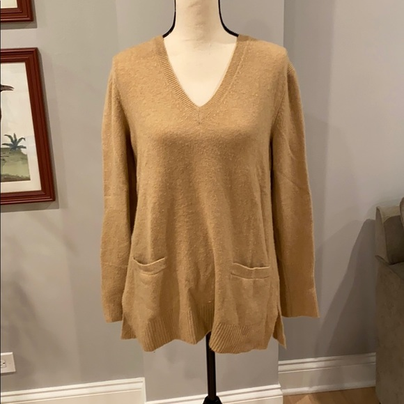 J. Crew Sweaters - J Crew Soft camel color sweater